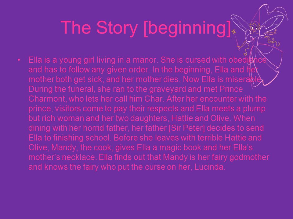 The Story [beginning]